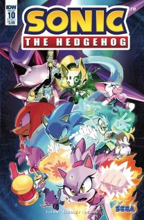 Sonic The Hedgehog #10 cover