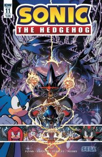 Sonic The Hedgehog #11 cover