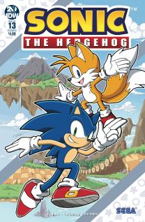 Sonic The Hedgehog #13 cover