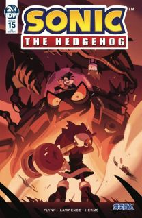 Sonic The Hedgehog #15 cover