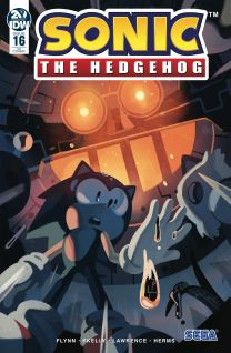 Sonic The Hedgehog #16 cover