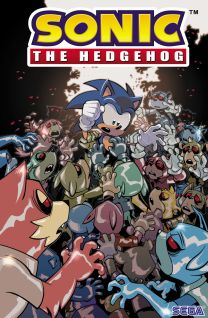 Sonic The Hedgehog #20 cover