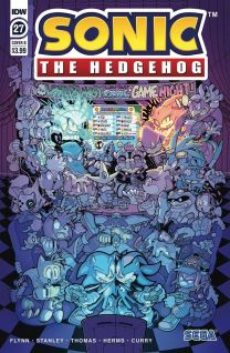 Sonic The Hedgehog #27 cover