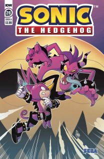 Sonic The Hedgehog #28 cover