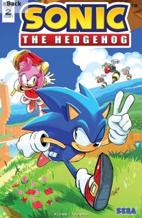 Sonic The Hedgehog #2 cover