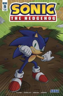 Sonic The Hedgehog #5 cover