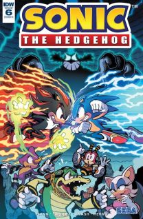 Sonic The Hedgehog #6 cover