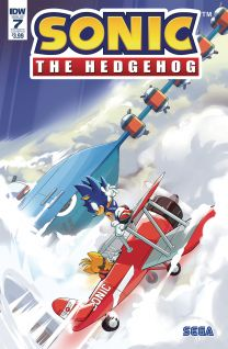 Sonic The Hedgehog #7 cover