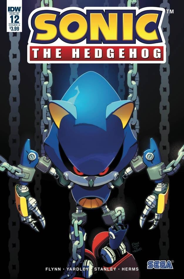 Sonic The Hedgehog #12 Cover A