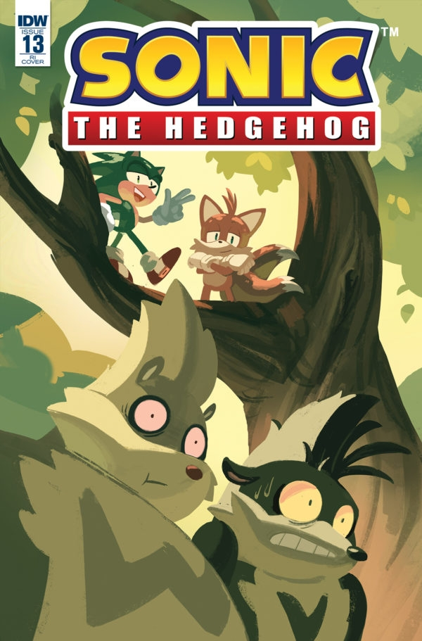 Sonic The Hedgehog #13 RI