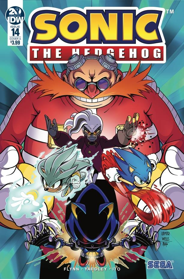 Sonic The Hedgehog #14 Cover A