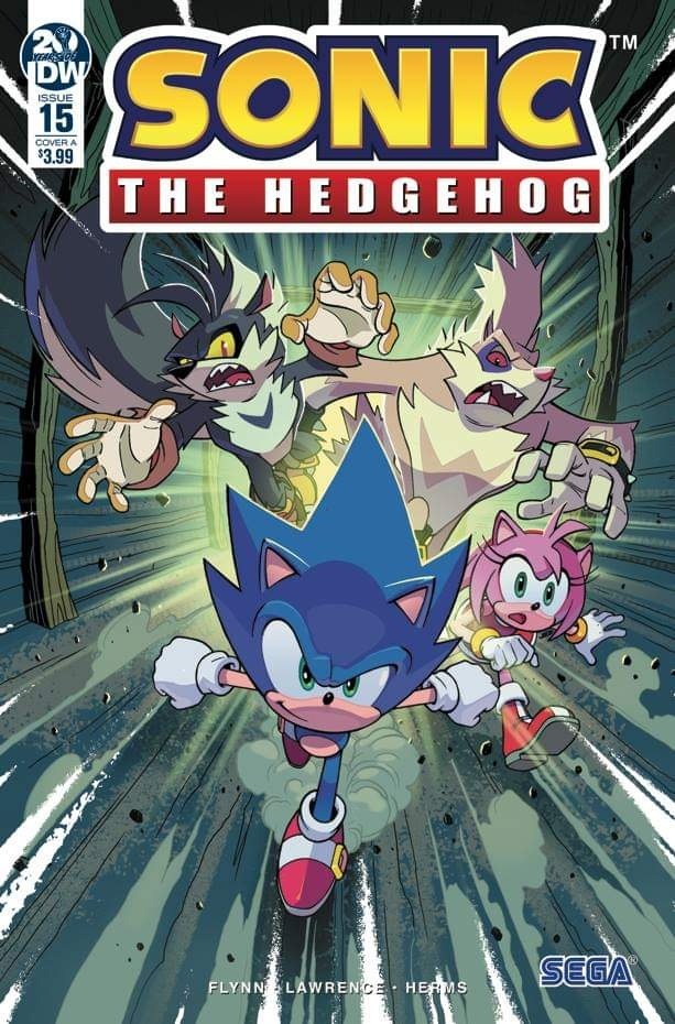 Sonic The Hedgehog #15 Cover A