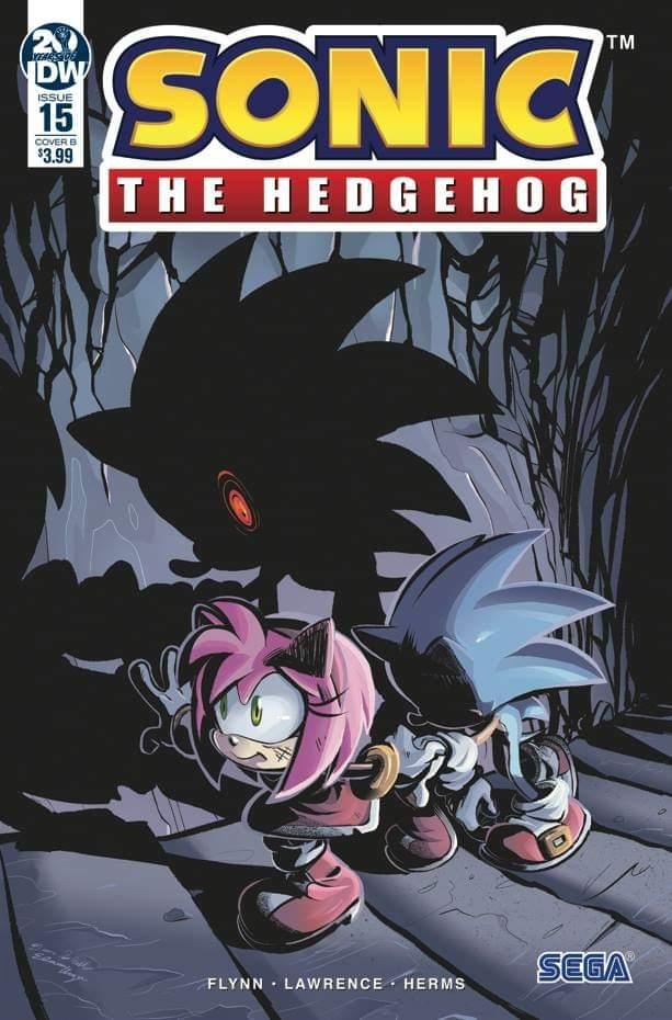 Sonic The Hedgehog #15 Cover B