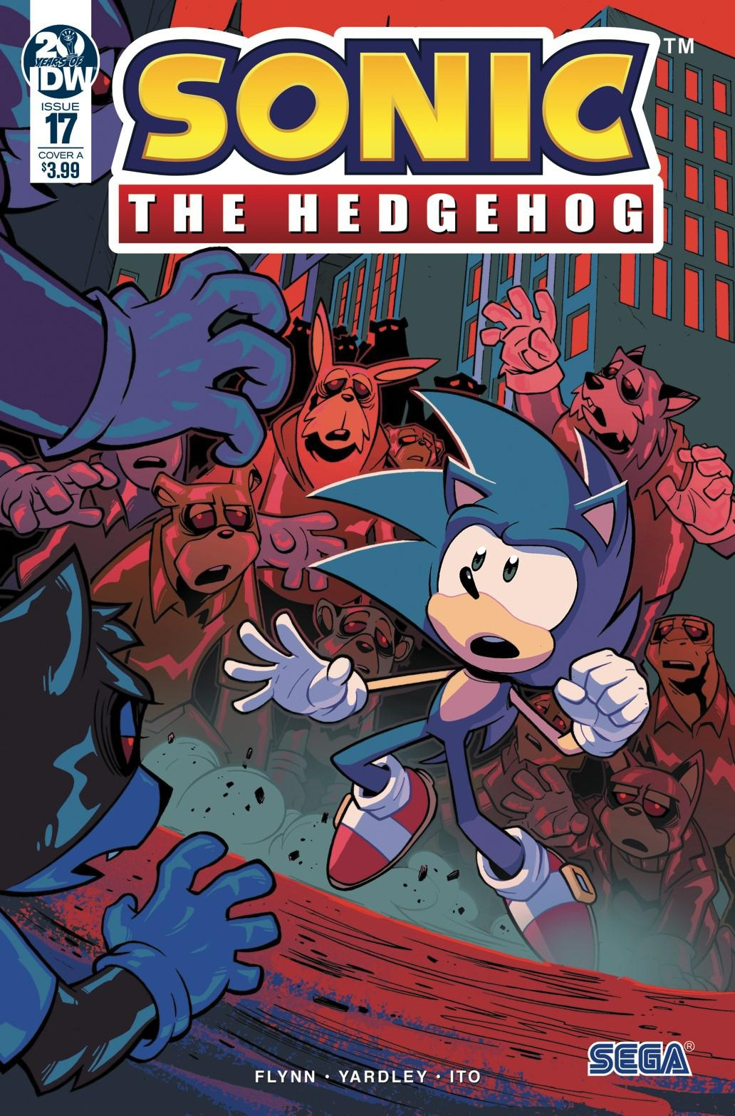 Sonic The Hedgehog #17 Cover A