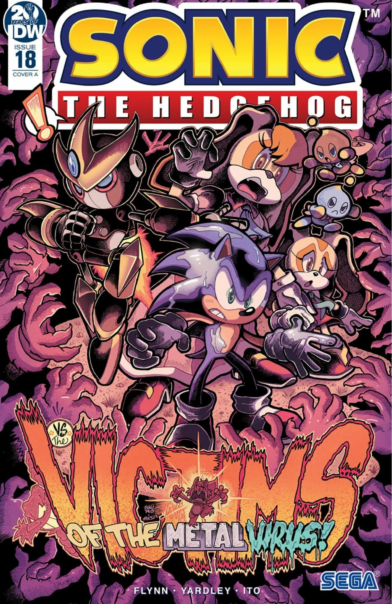 Sonic The Hedgehog #18 Cover A