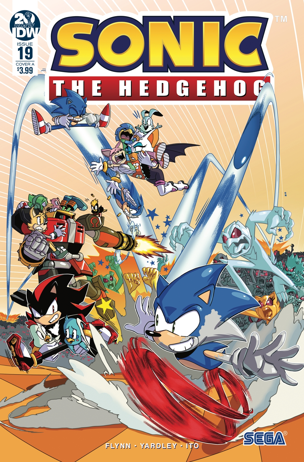 Sonic The Hedgehog #19 Cover A