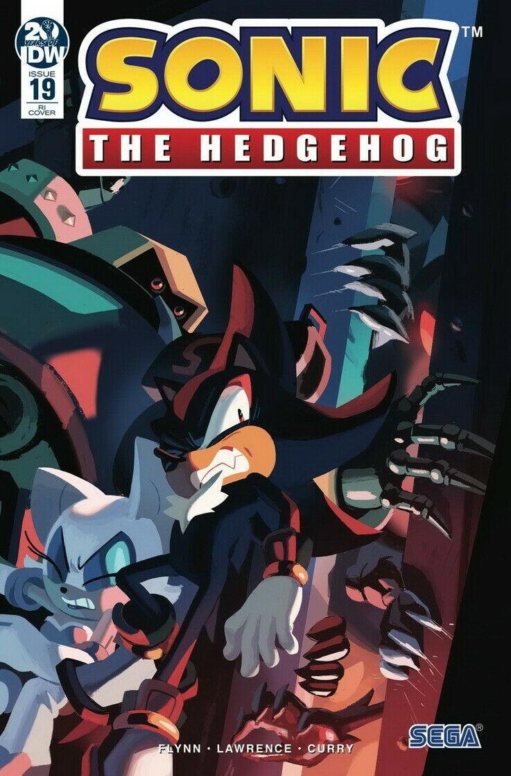 Sonic The Hedgehog #19 RI
