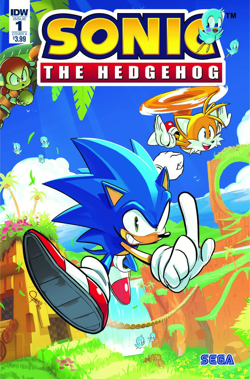 Sonic The Hedgehog #1 Cover A