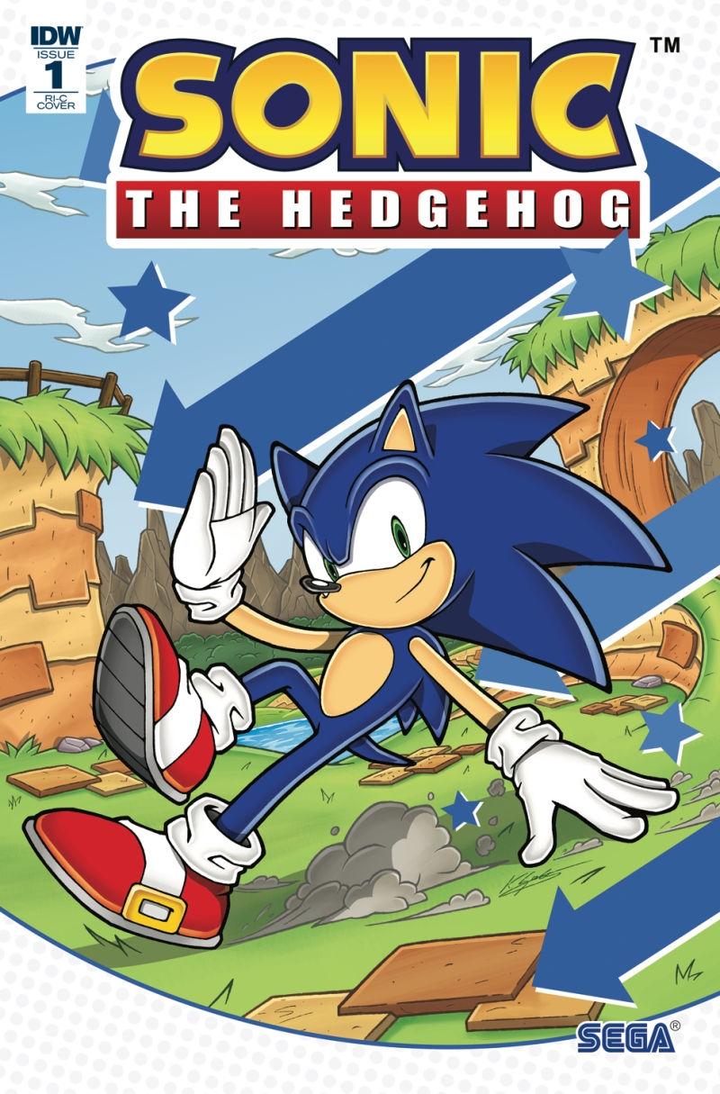 Sonic The Hedgehog #1 RI-C