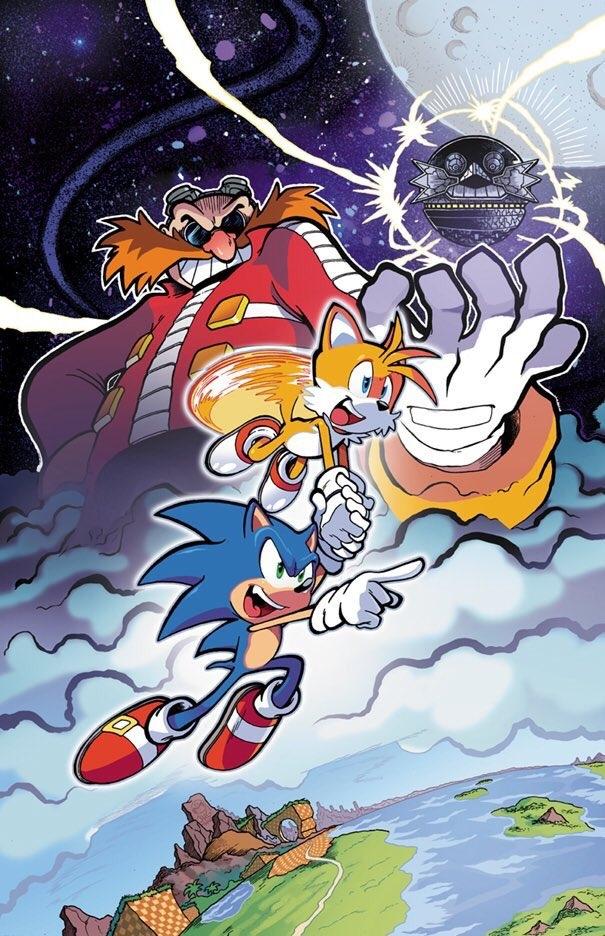 Sonic The Hedgehog #1 Spencers