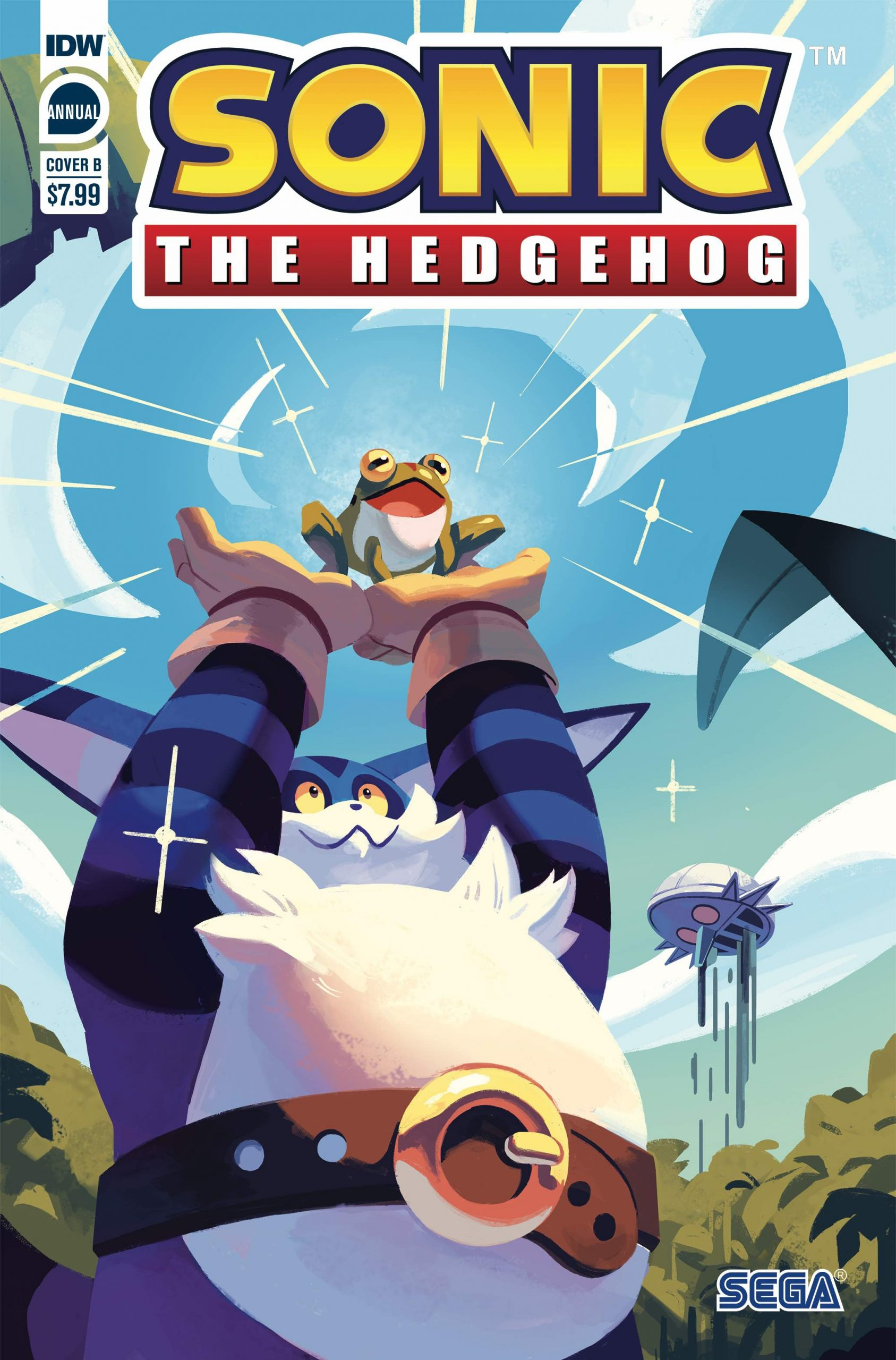 Sonic the Hedgehog Annual 2020 Cover B