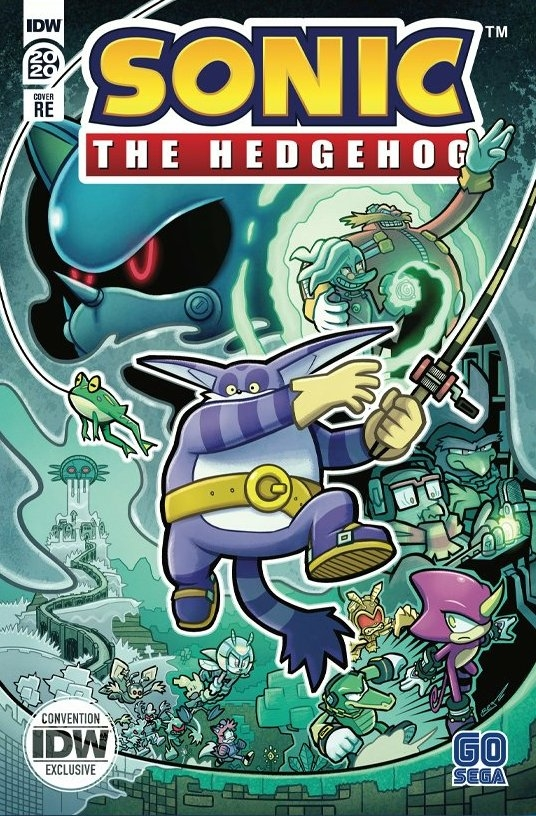 Sonic the Hedgehog Annual 2020 RE