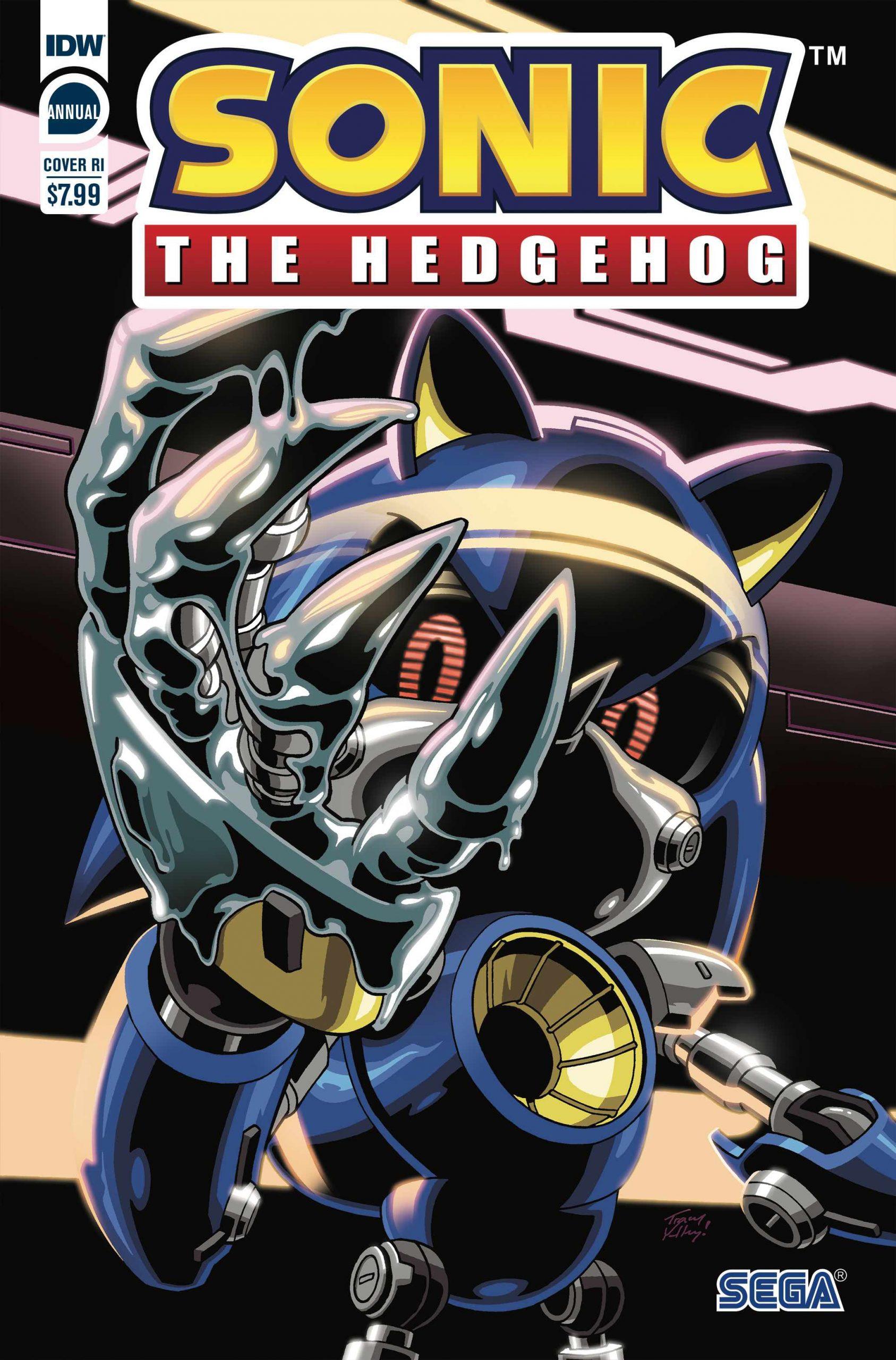 Sonic the Hedgehog Annual 2020 RI