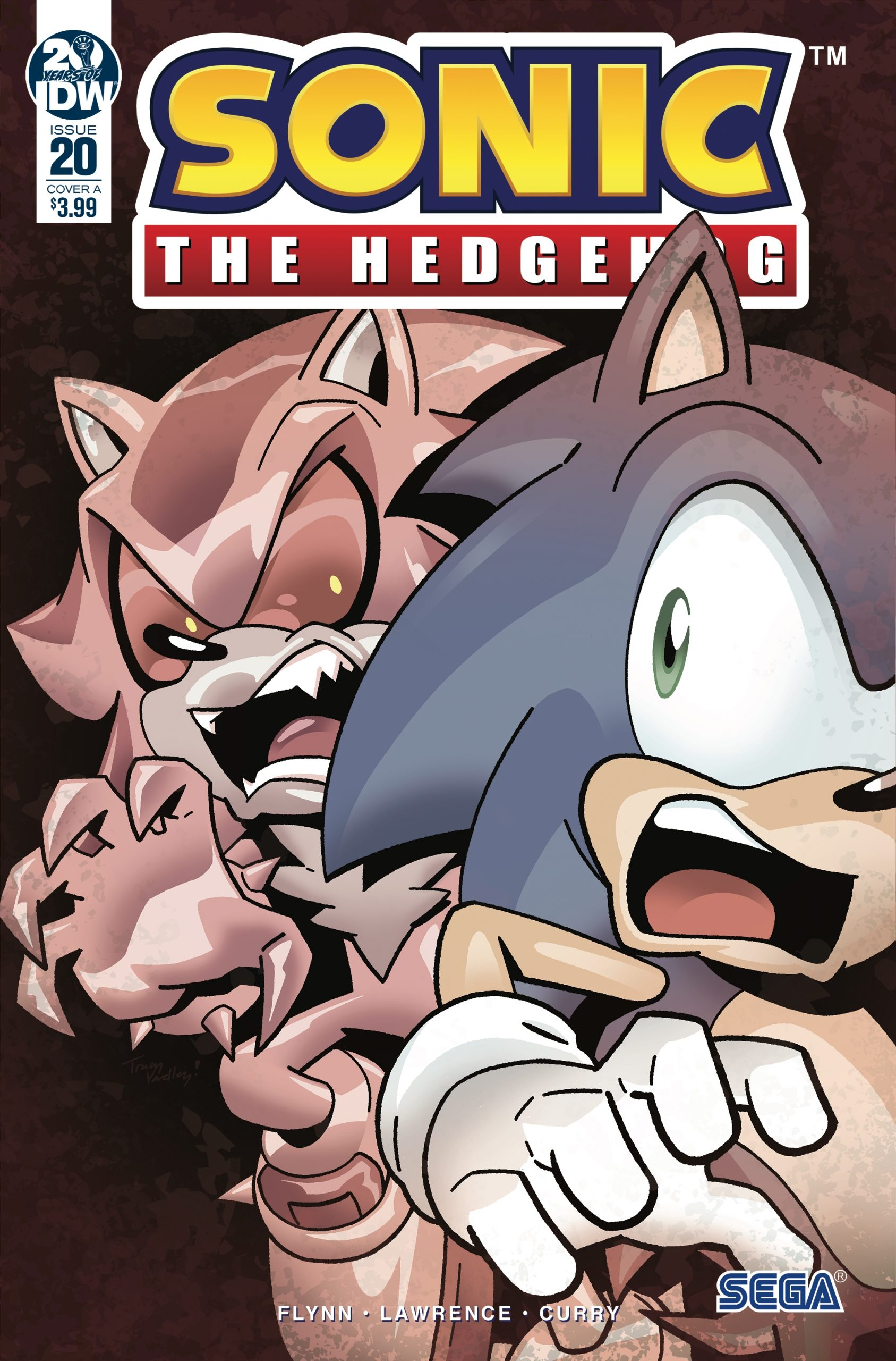 Sonic The Hedgehog #20 Cover A