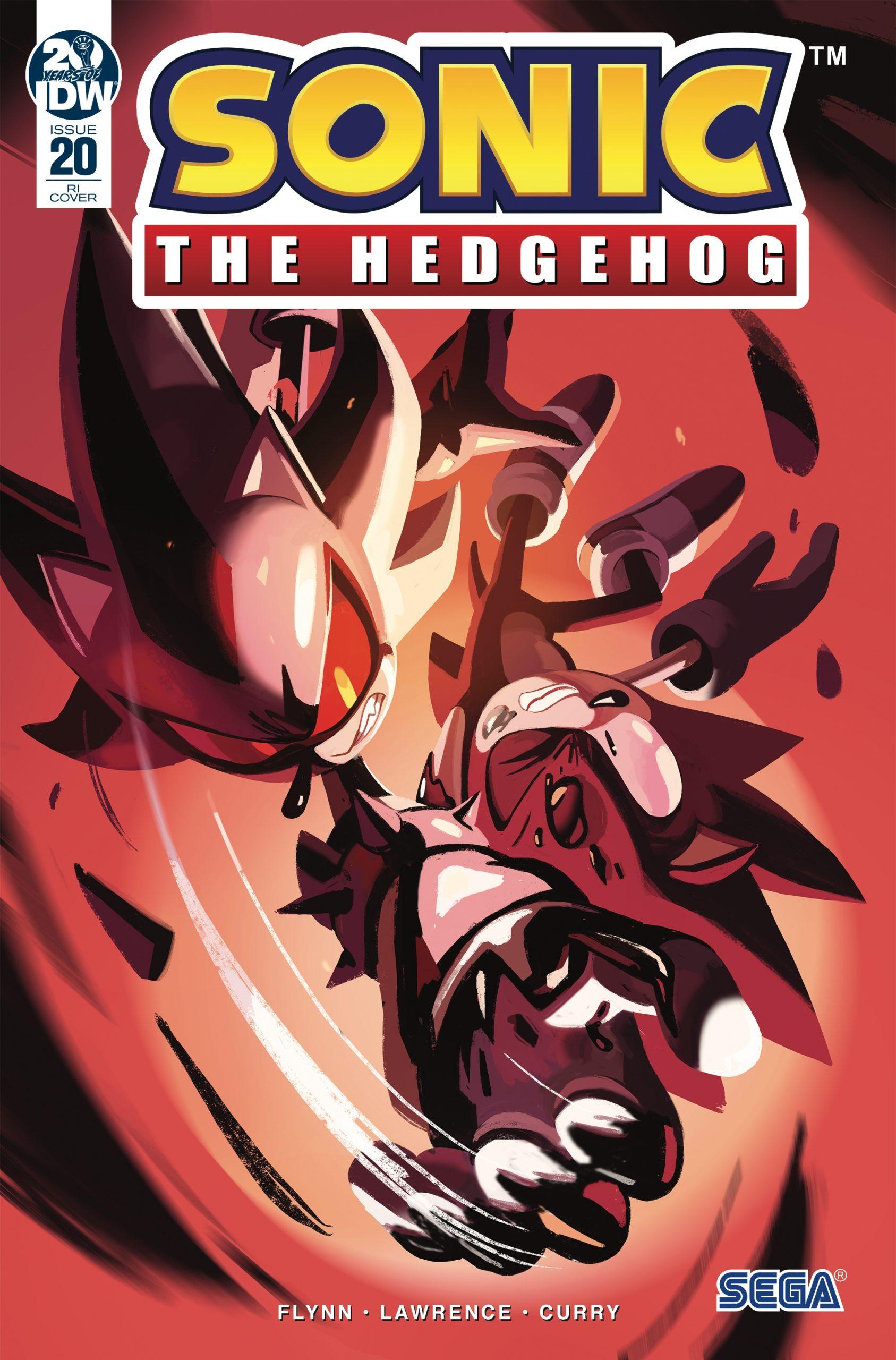Sonic The Hedgehog #20 RI