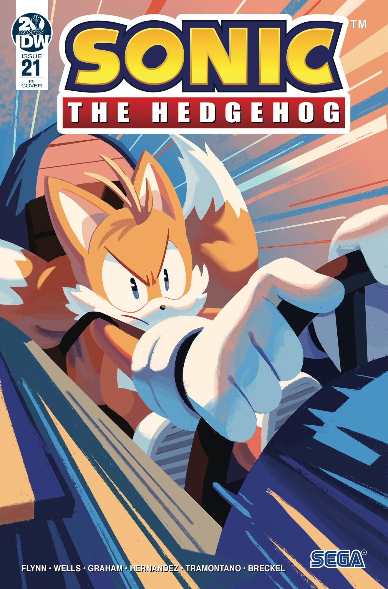 Sonic The Hedgehog #21 RI