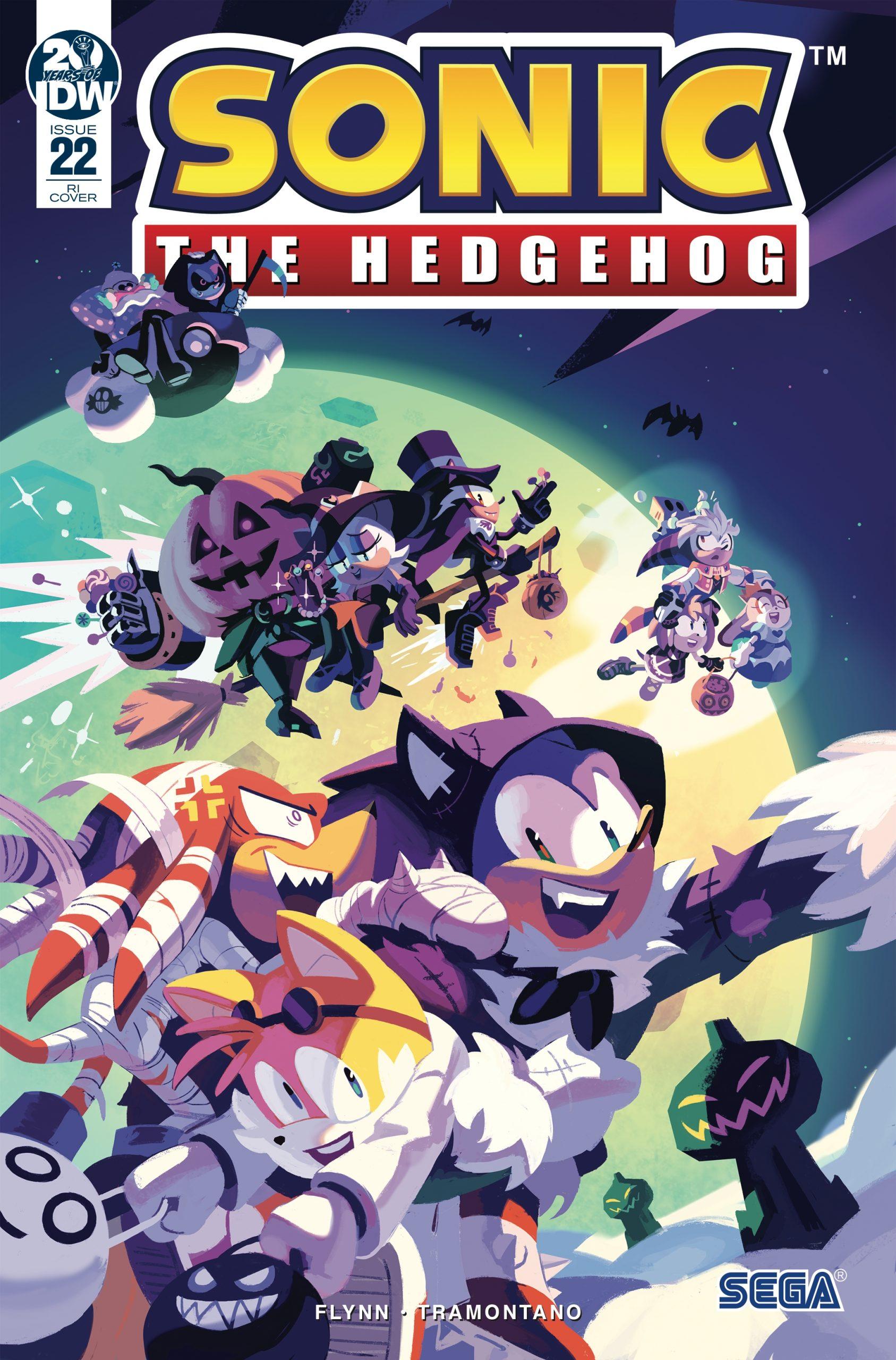 Sonic The Hedgehog #22 RI