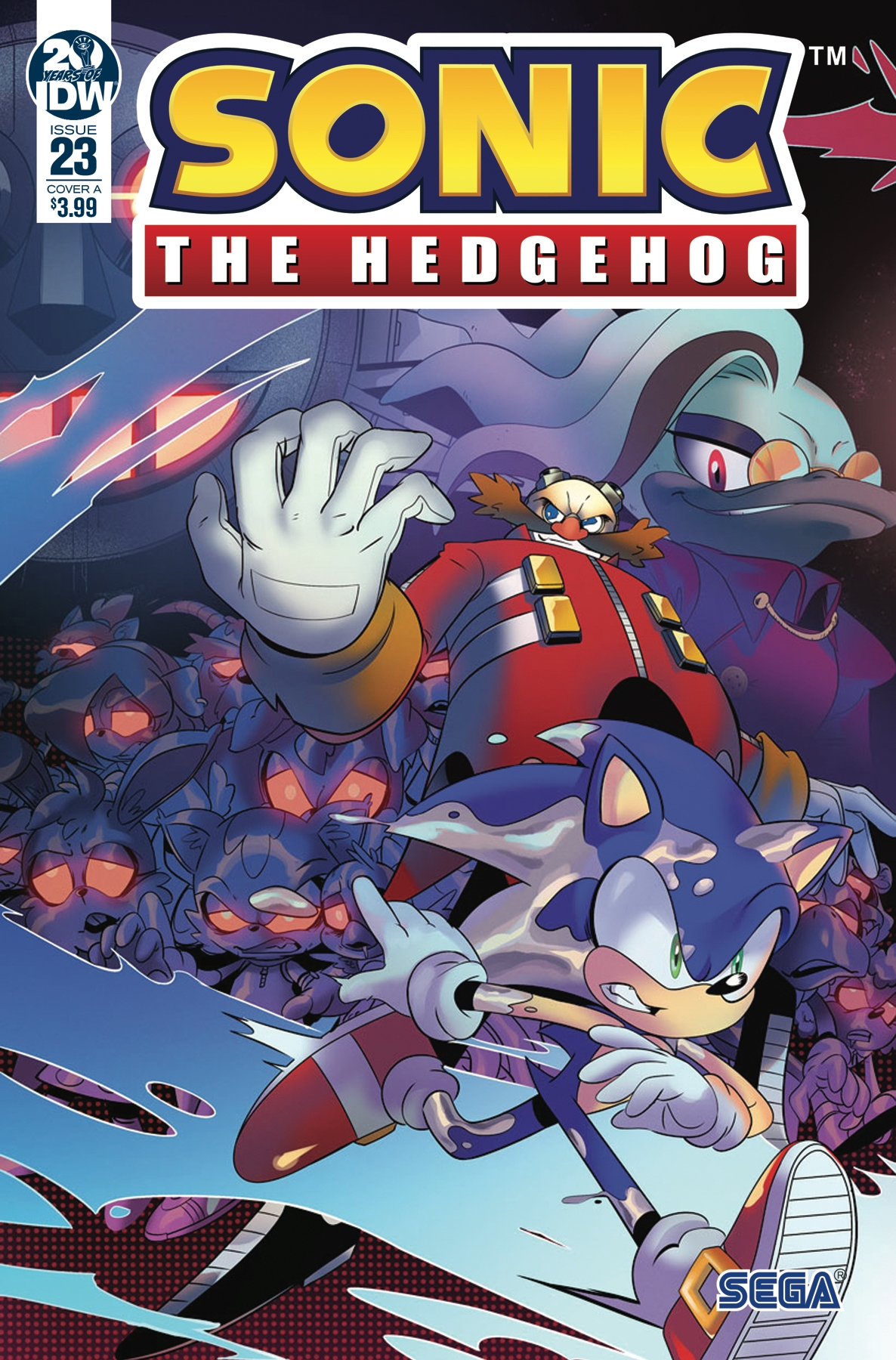 Sonic The Hedgehog #23 Cover A