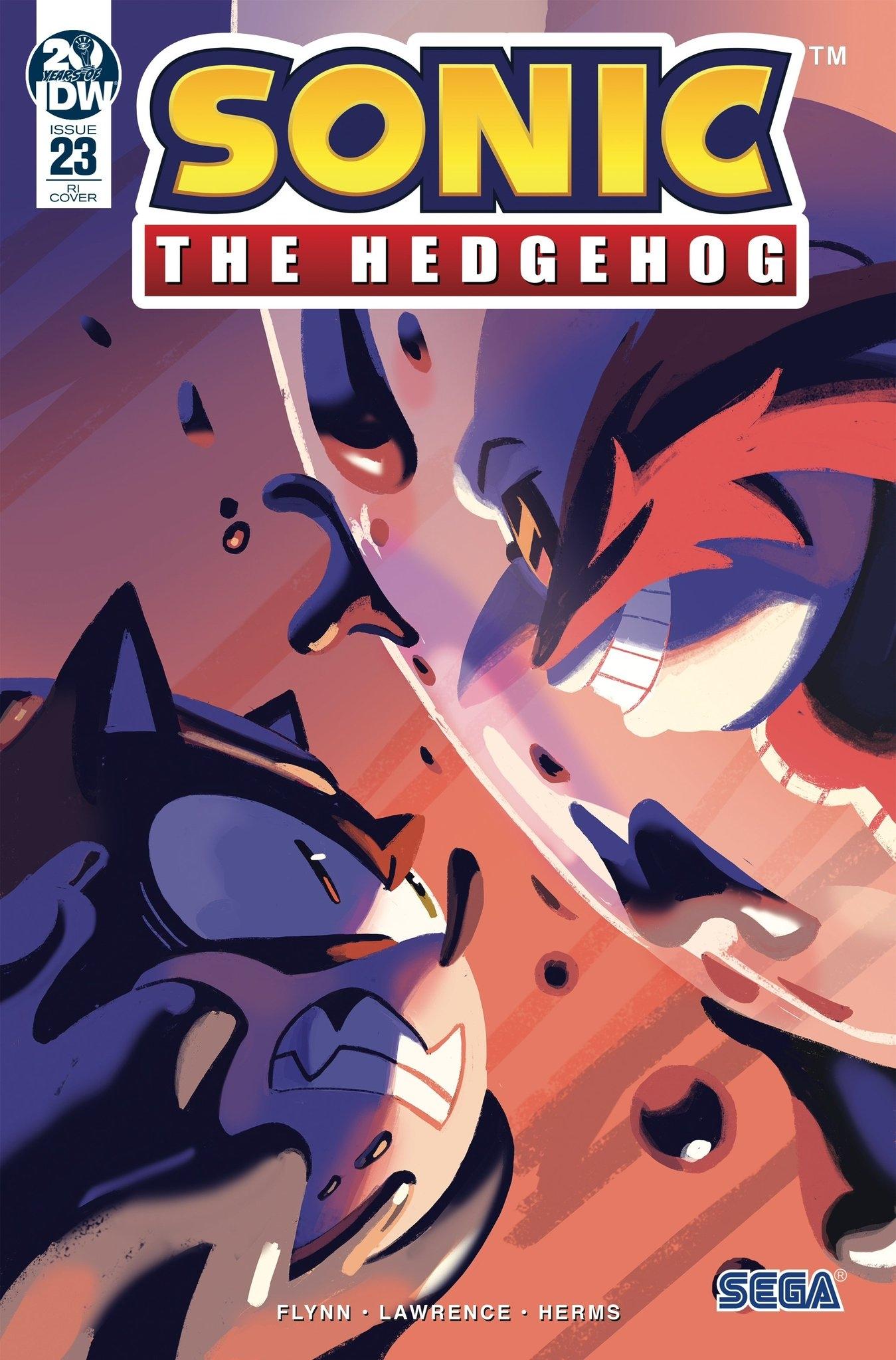 Sonic The Hedgehog #23 RI