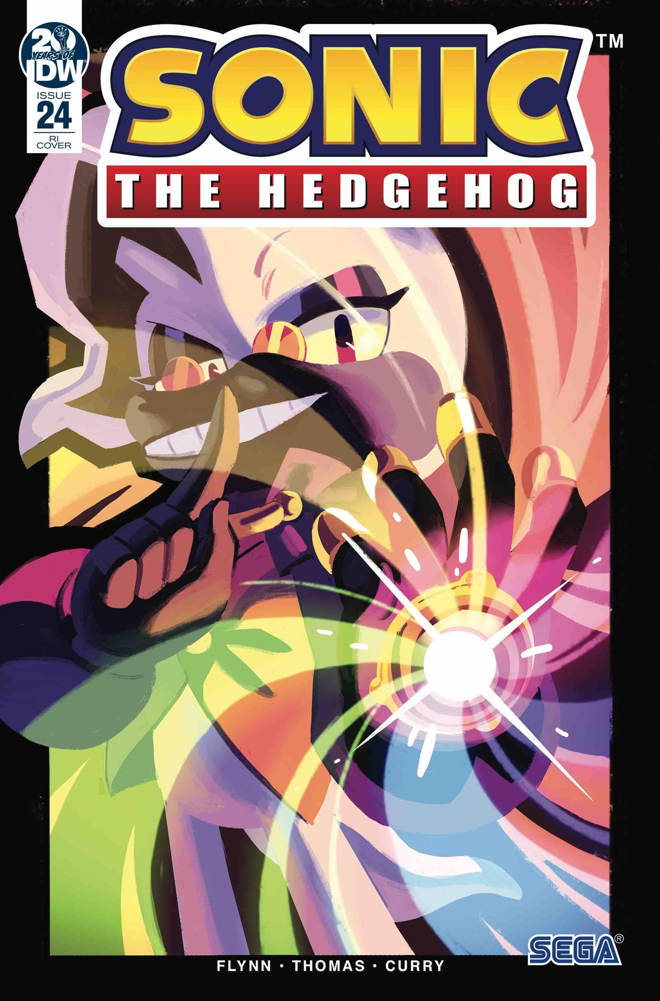 Sonic The Hedgehog #24 RI