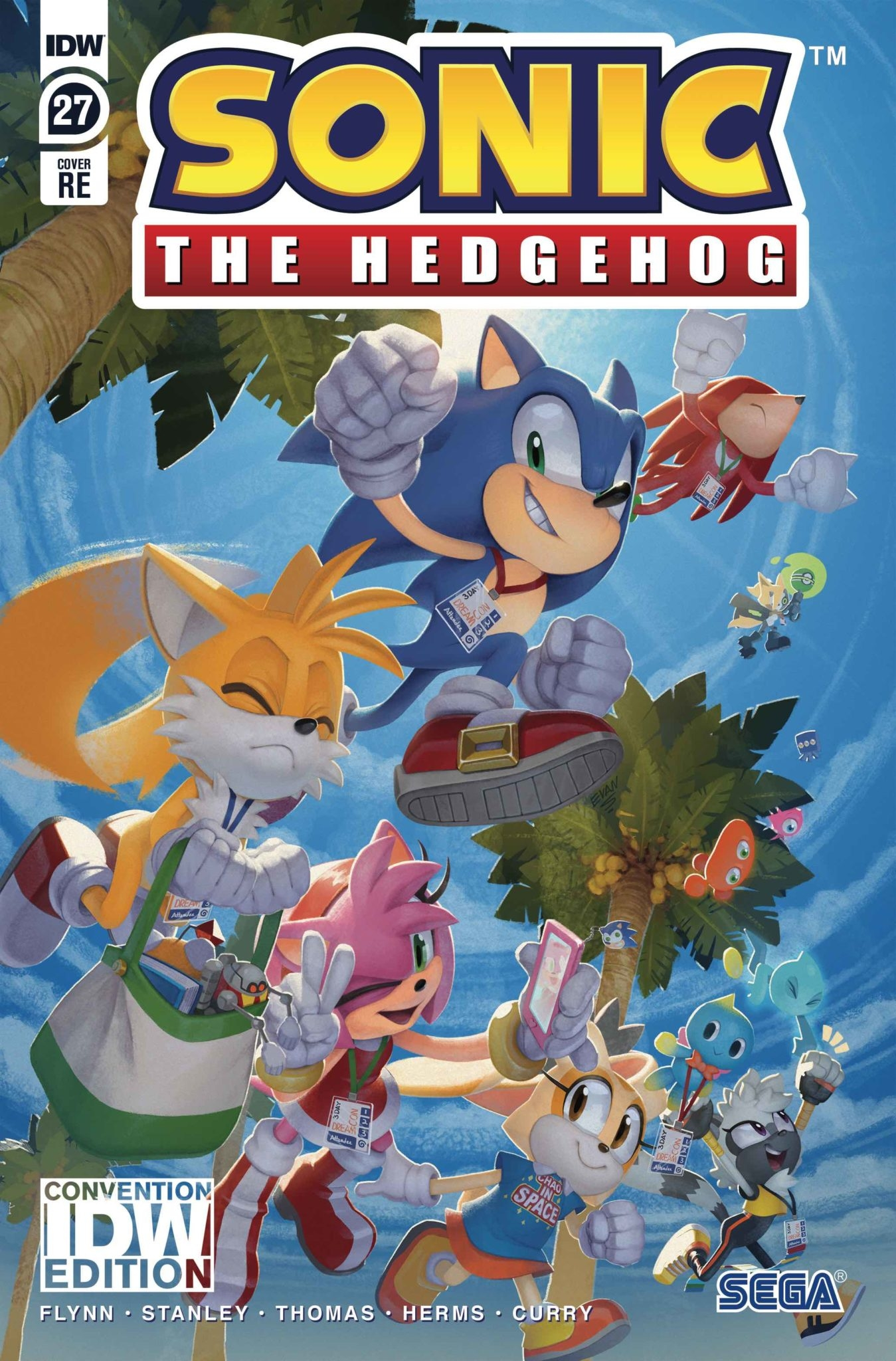 Sonic The Hedgehog #27 RE