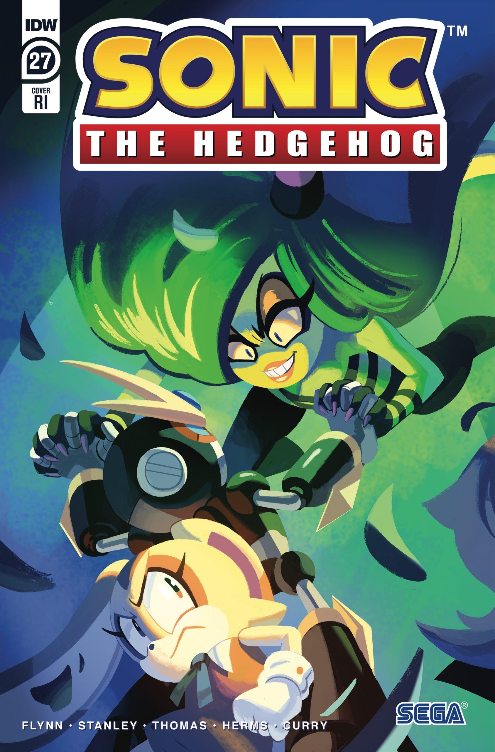 Sonic The Hedgehog #27 RI