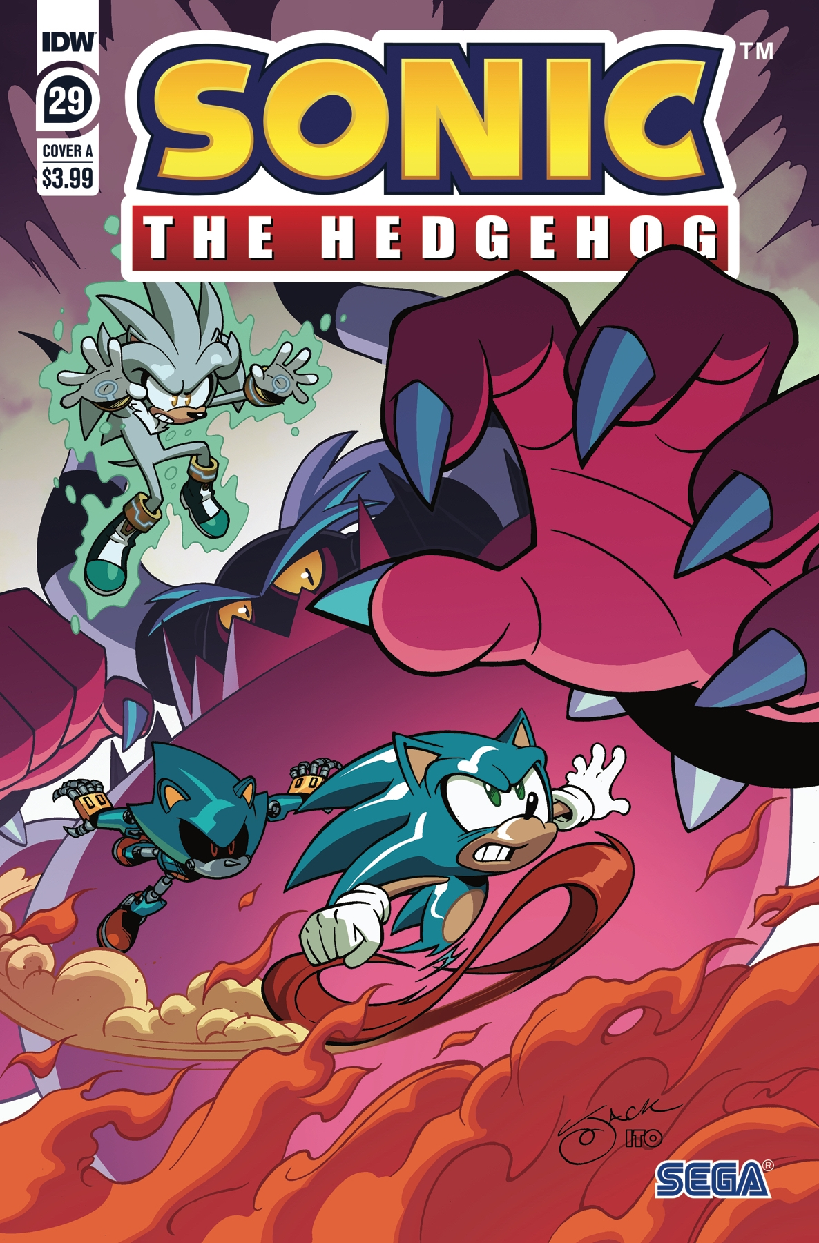 Sonic The Hedgehog #29 Cover A