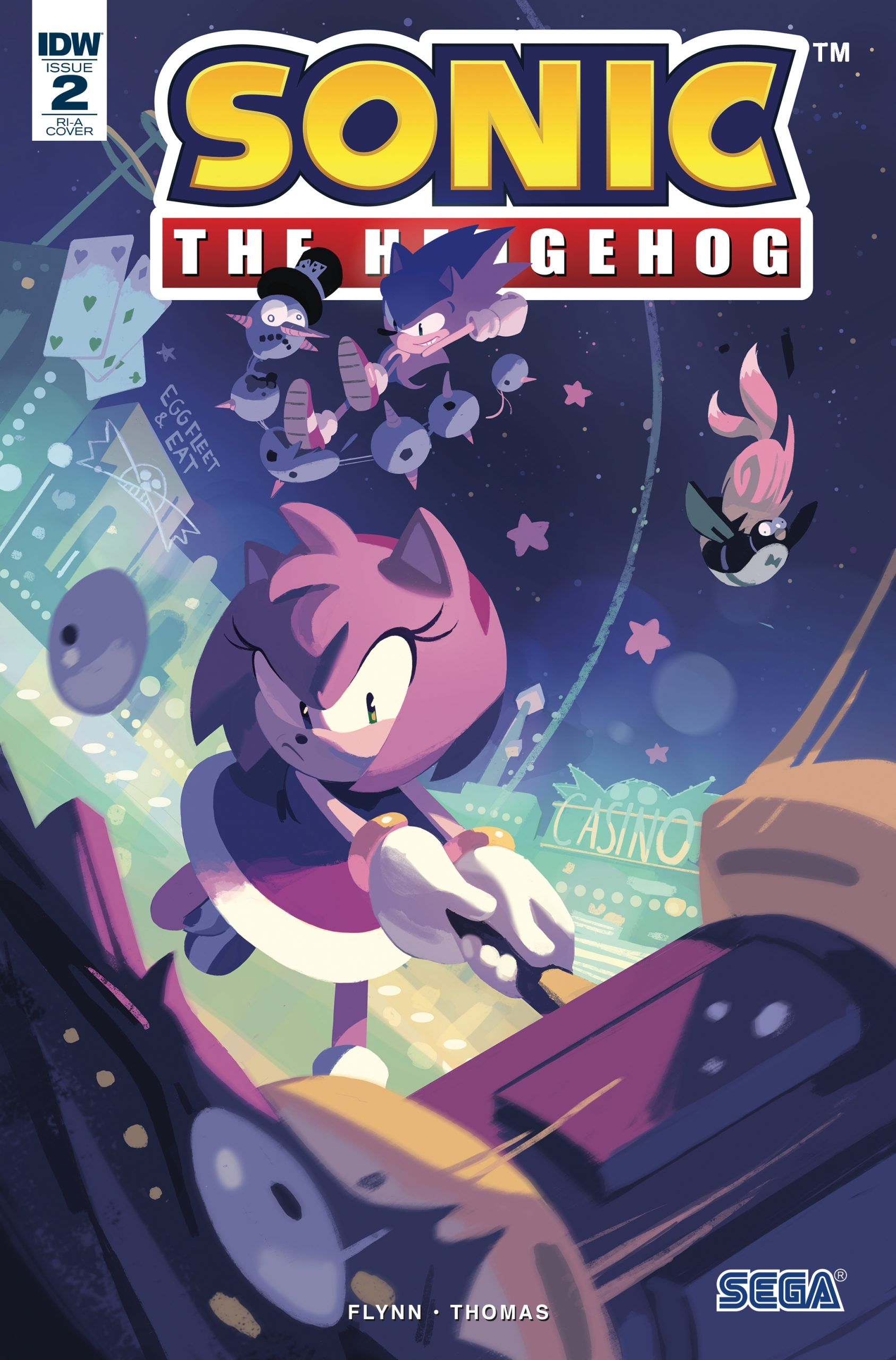 Sonic The Hedgehog #2 RI-A