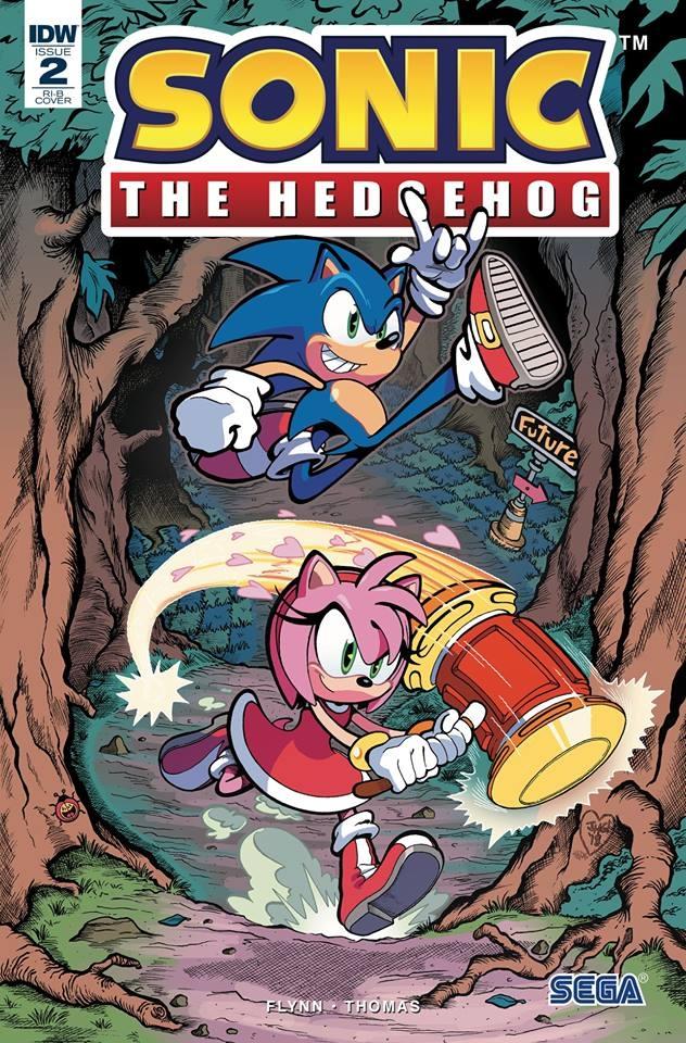 Sonic The Hedgehog #2 RI-B