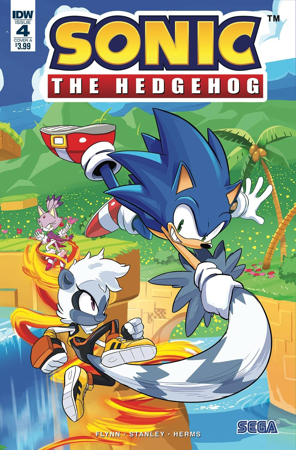Sonic The Hedgehog #4 Cover A