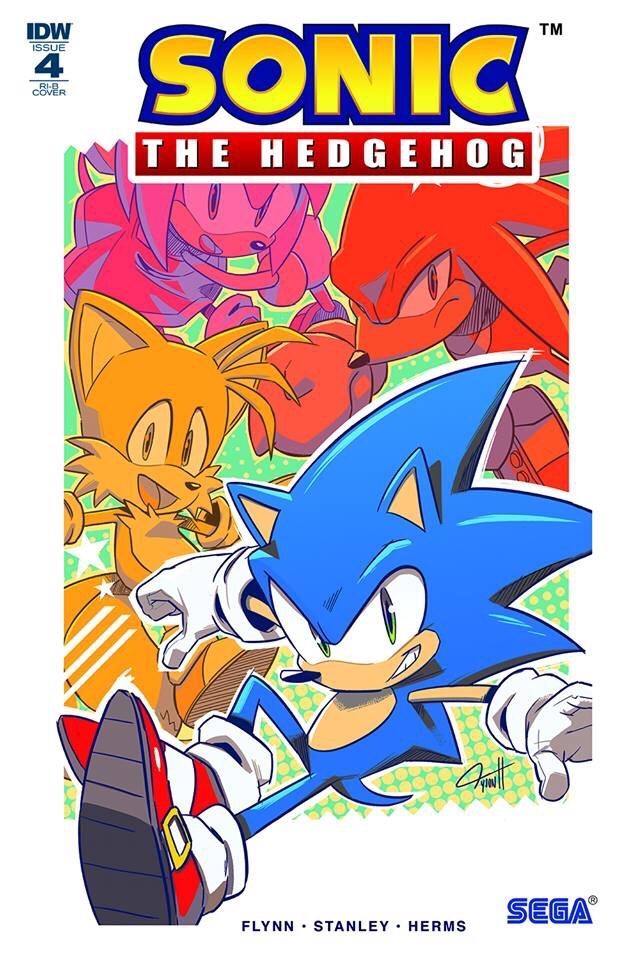 Sonic The Hedgehog #4 RI-B