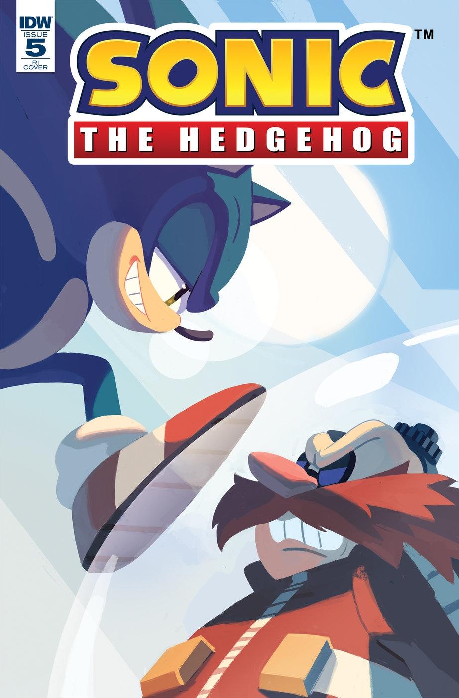 Sonic The Hedgehog #5 RI-A