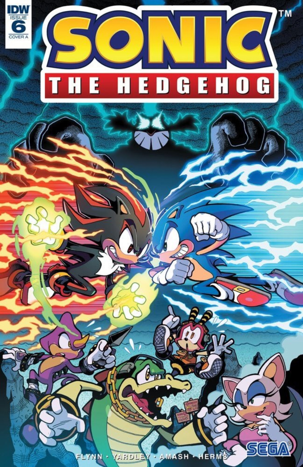 Sonic The Hedgehog #6 Cover A