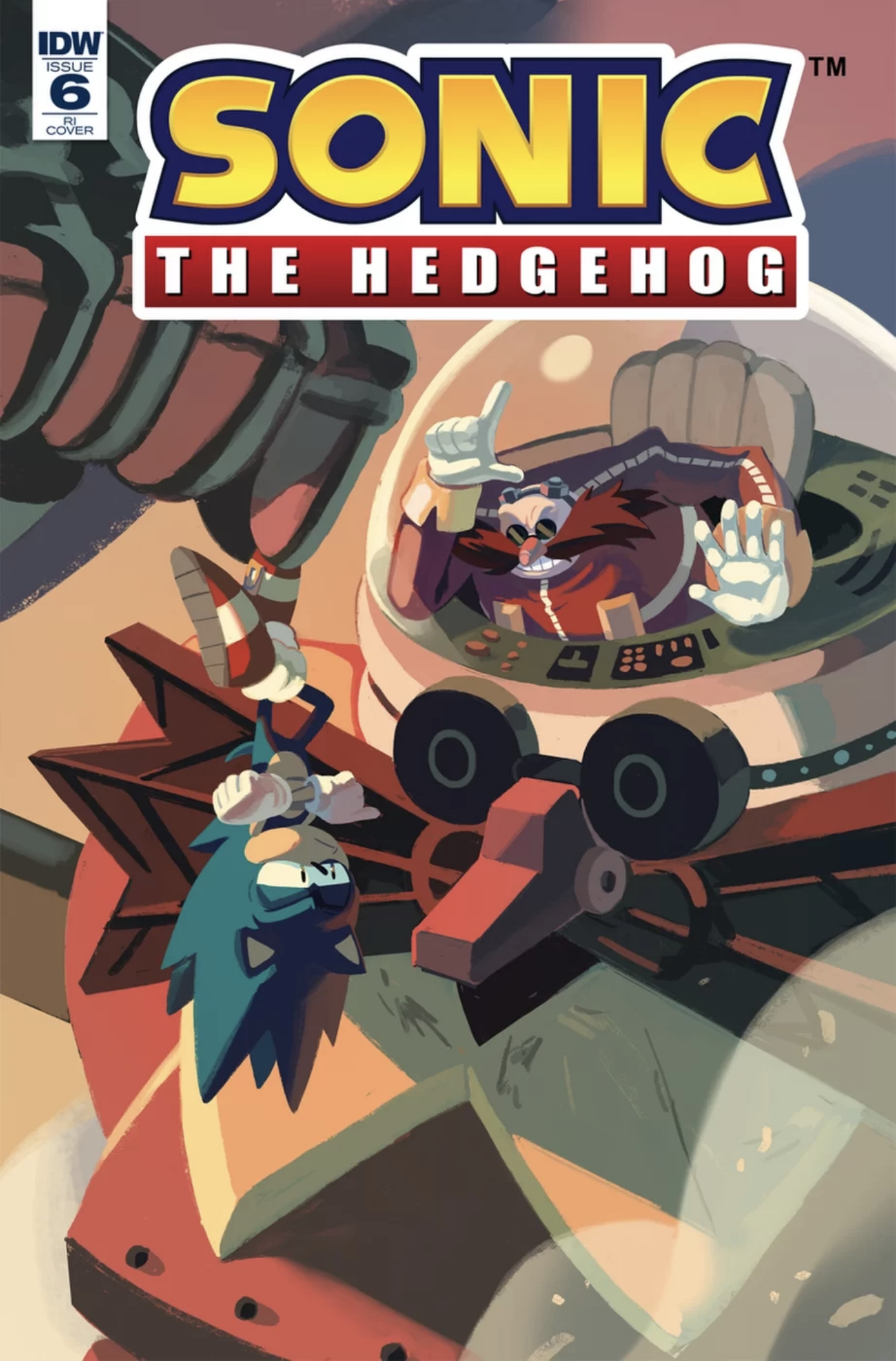 Sonic The Hedgehog #6 RI