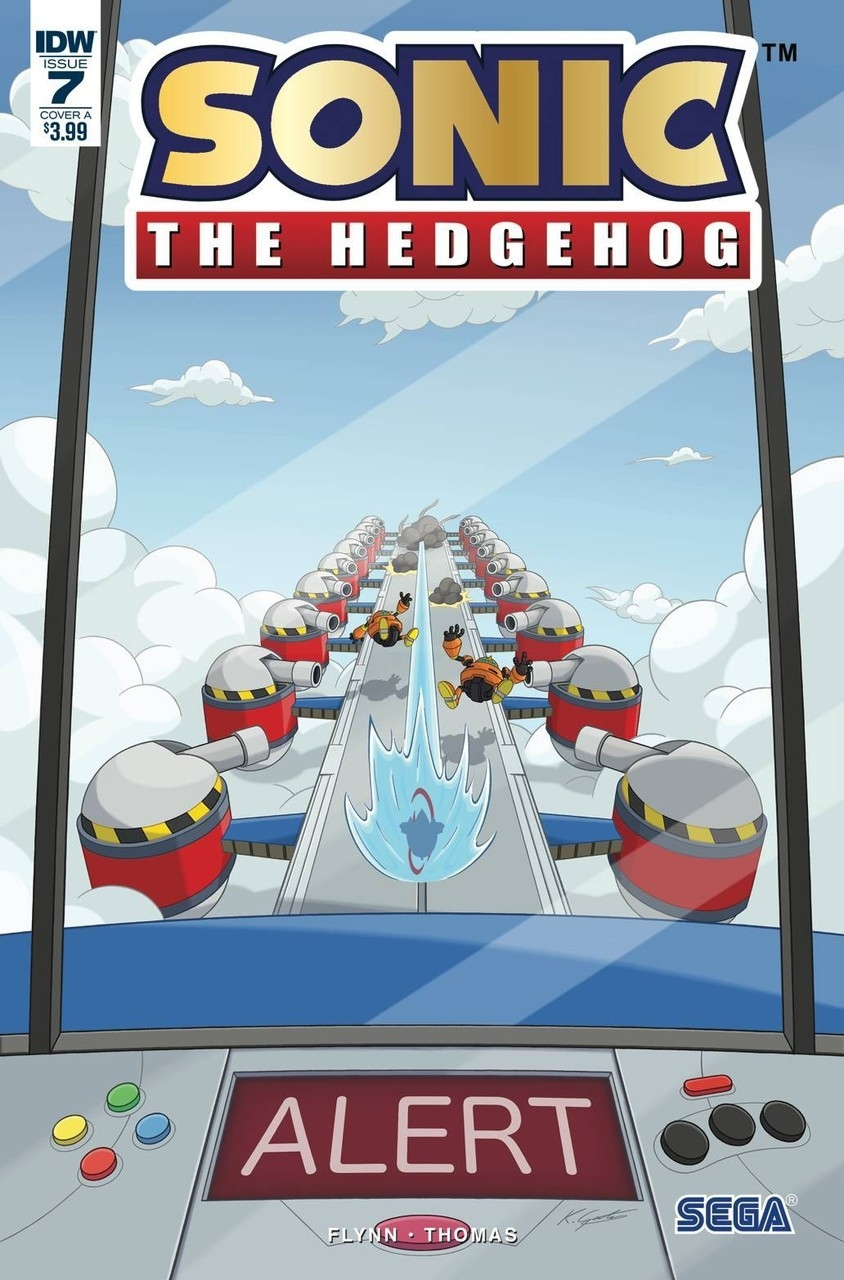 Sonic The Hedgehog #7 Cover A