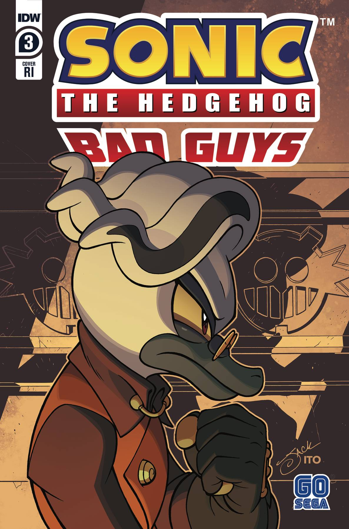 Sonic The Hedgehog: Bad Guys #3