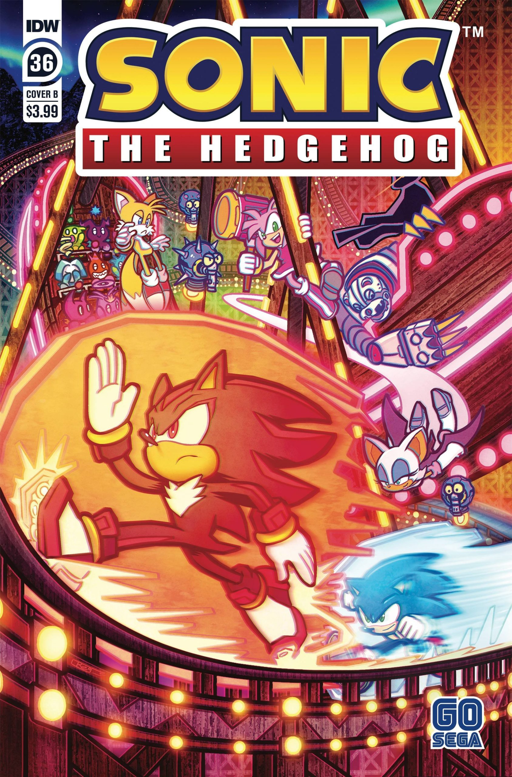 Sonic The Hedgehog #36