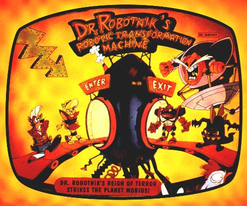 The Menace Of Doctor Ivo Robotnik