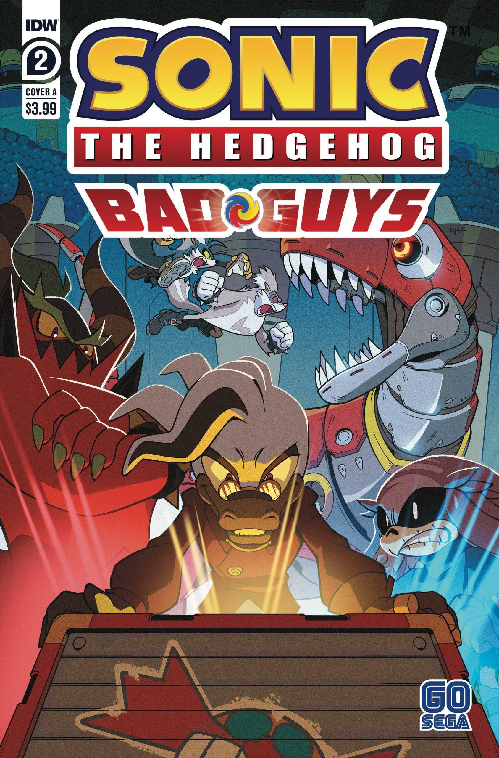 Sonic The Hedgehog: Bad Guys #2