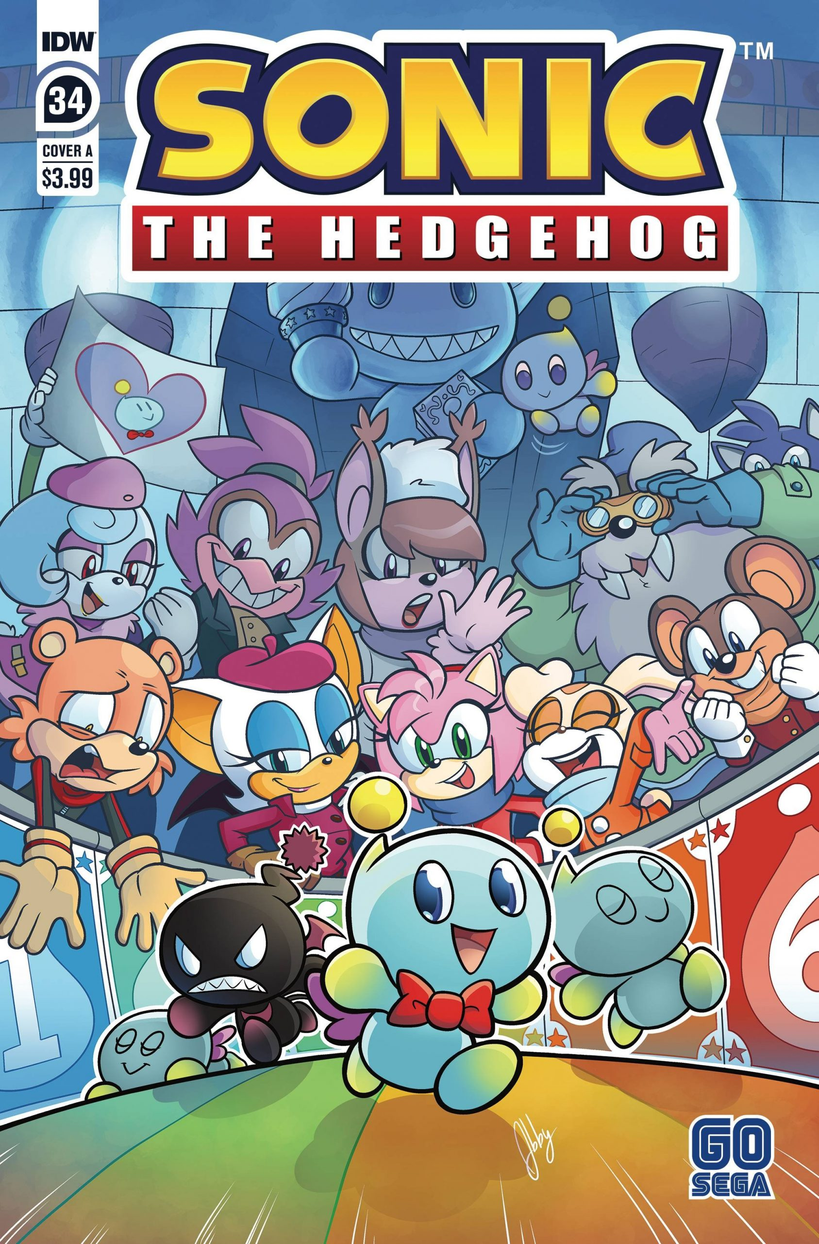 Sonic The Hedgehog #34 Cover A